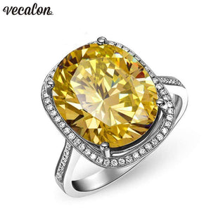 Womens Oval Cut 10 Ct Zircon Cz Filled Ring-[product_tag]-My MALL Metro