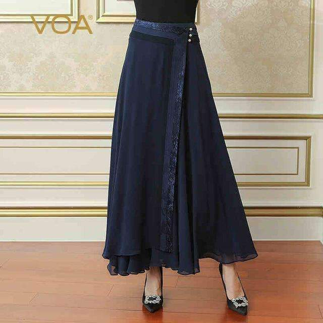 Womens Maxi Long Pleated Skirt-[product_tag]-My MALL Metro