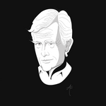 Keith Morrison portrait (high-res digital illustration)