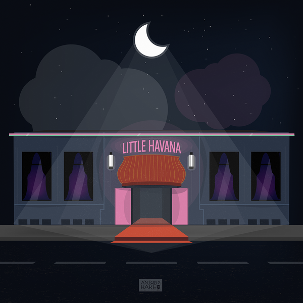 Little Havana (SUPER high-res digital illustration)
