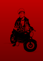 The Wild One (high-res digital illustration)