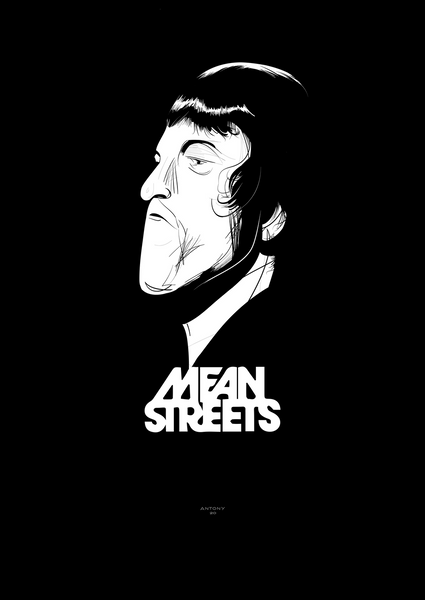 Johnny Boy from Mean Streets (high-res digital illustration)