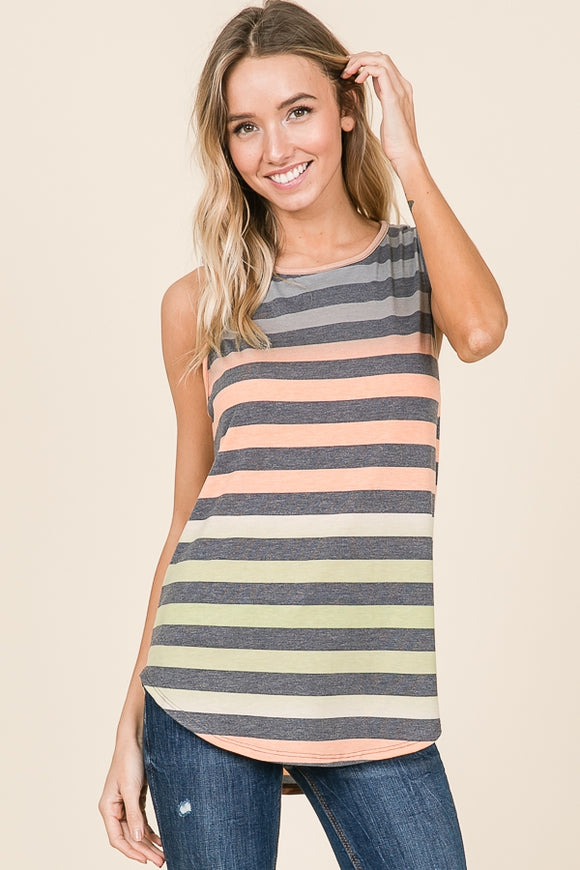 Summer Stripes Tank