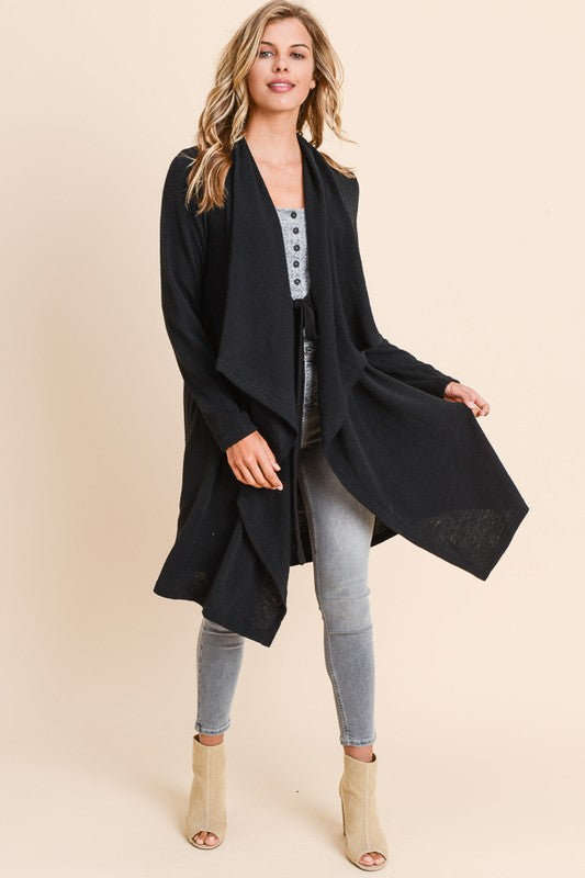 Hailee Cardigan in Black