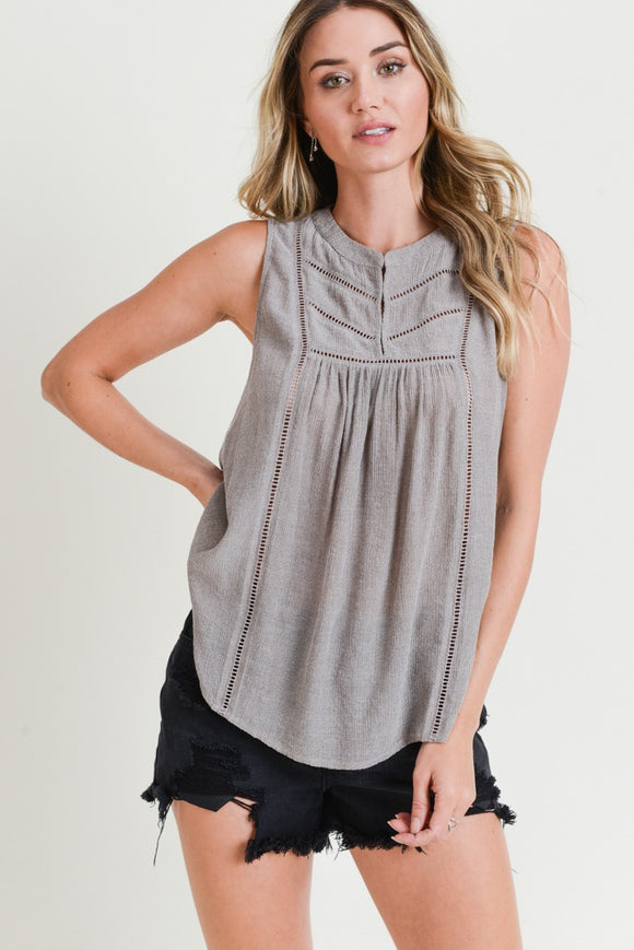 Laurie Sleeveless Blouse