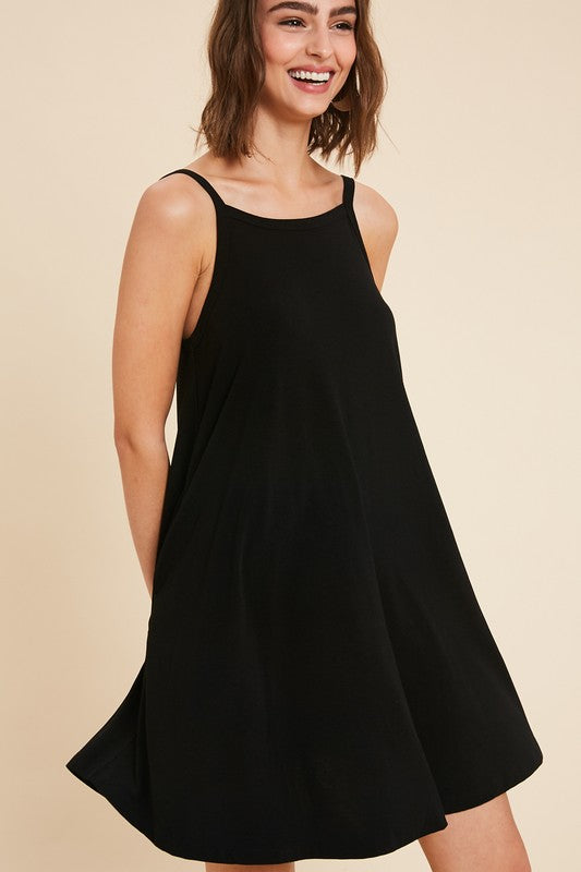 Susie Basic Dress in Black