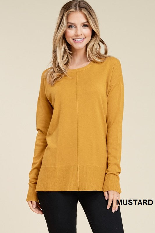 Nicole Sweater in Mustard