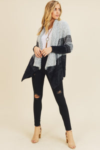 Tripp Color Block Cardigan