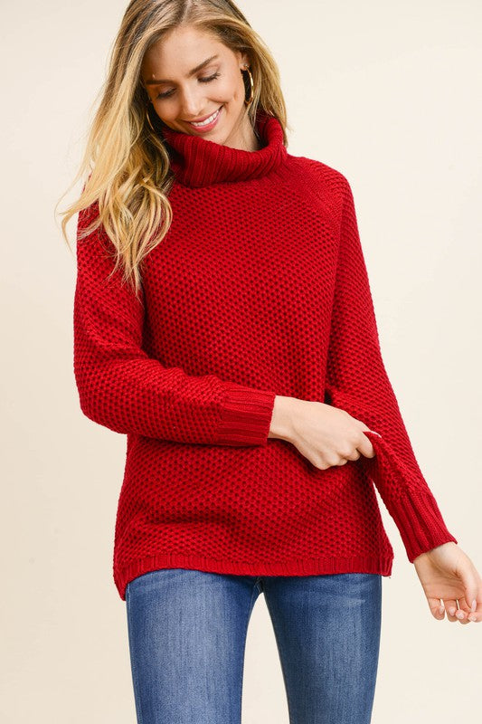Eve Sweater in Red