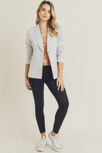 Jane Blazer in Grey