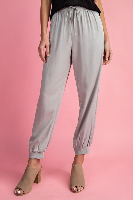 Sadie Jogger Pants in Grey