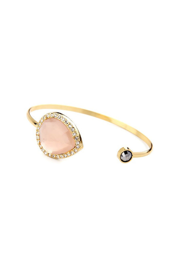 Blush and Gold Bangle
