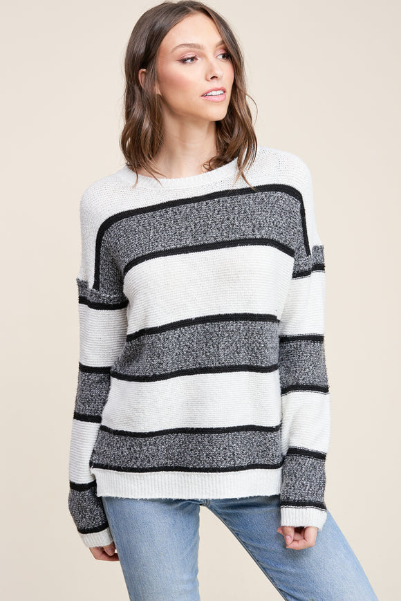 Emery Sweater in White
