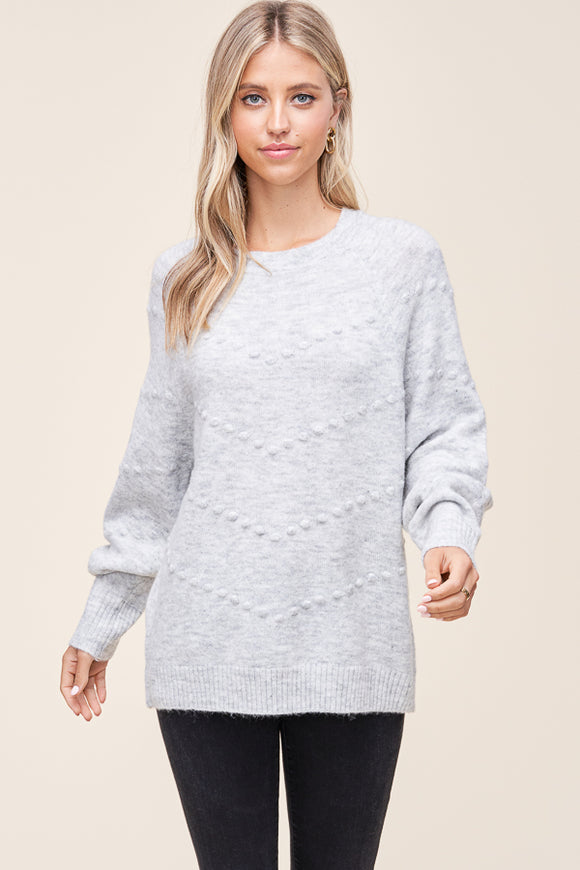 Rylee Sweater in Grey