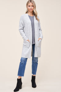 Blake Cardigan in Heather Grey