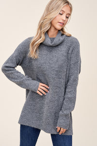 Mandy Sweater in Grey