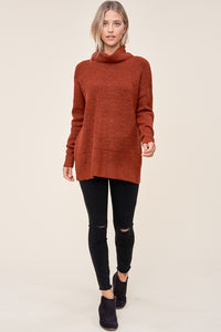 Mandy Sweater in Rust
