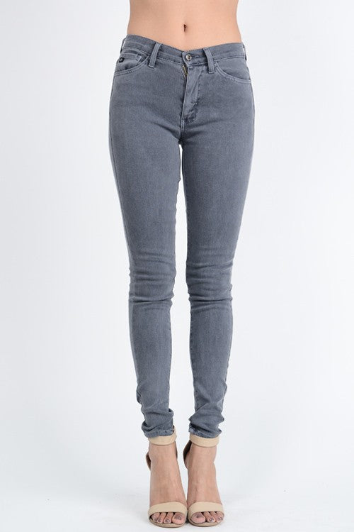 Stacey Grey Wash Skinny Jeans