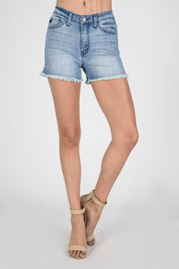 Mia Light Wash Shorts