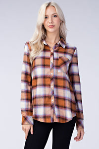 Fall In Love Flannel // More Color Options