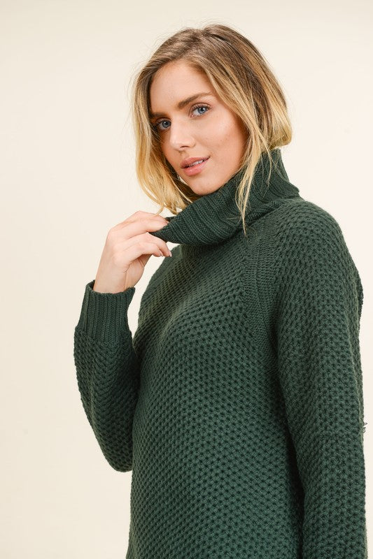 Eve Sweater in Hunter Green