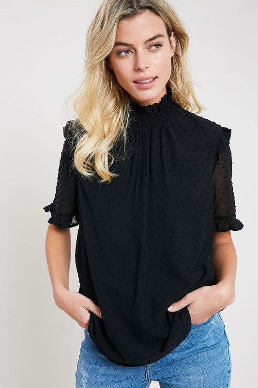Jalyssa Blouse in Black