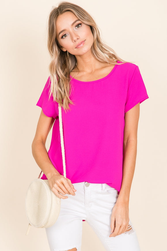 Magenta Dreams Top