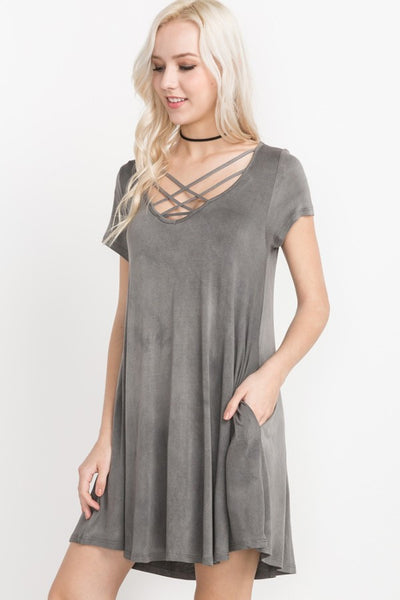 Forever Yours Criss Cross Dress // More Color Options