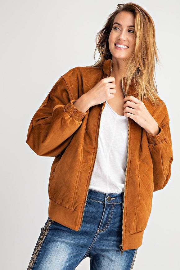 Victoria Jacket in Camel