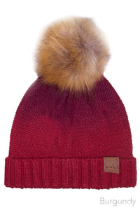Ombre` Beanie