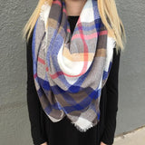 Plaid Blanket Scarf // More Color Options