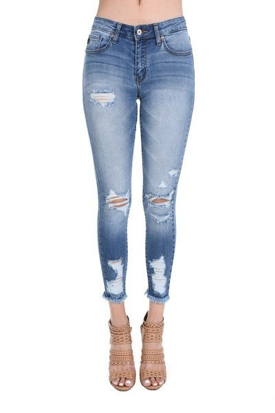 Laney Distressed Skinnies