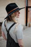 Ziggy Hat in Black