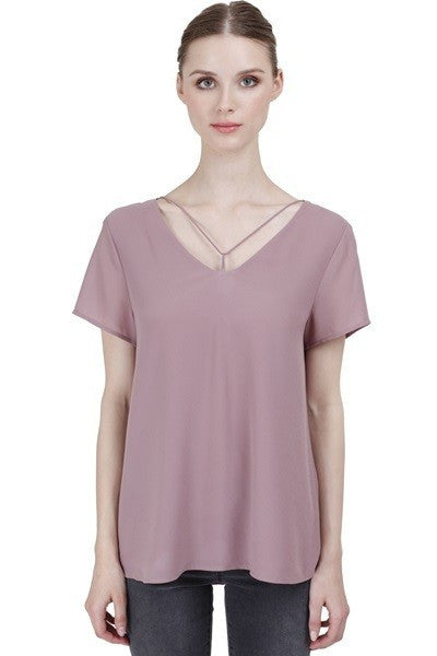 Tommie Top in Blush