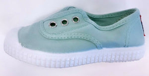 Mint Laceless Cienta Slip On