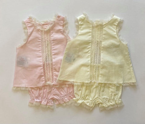 Anna Heirloom Bloomer Set
