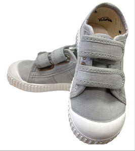 Gray Two Strap Shoe
