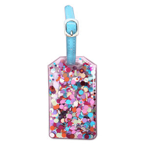 Confetti Luggage Tags