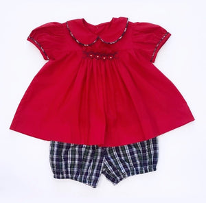 Red Kris Bloomer Set