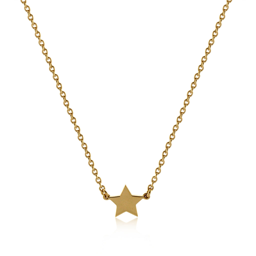 Wish Necklace -  Yellow Gold Vermeil