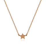 Wish Necklace - Rose Gold Vermeil
