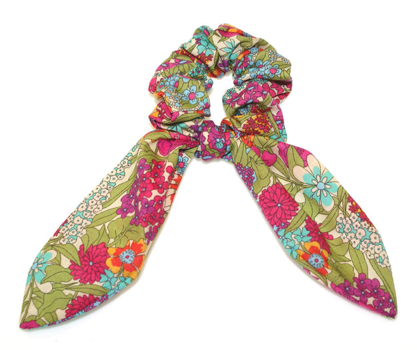 Liberty Fabric Scarf Scrunchies