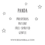 PANDA STUDS - BO + BALA - EARRINGS FOR KIDS NZ
