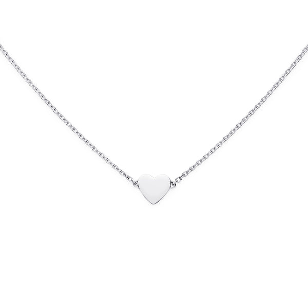 LOVE NECKLACE - BO + BALA - SILVER JEWELLERY FOR KIDS NZ
