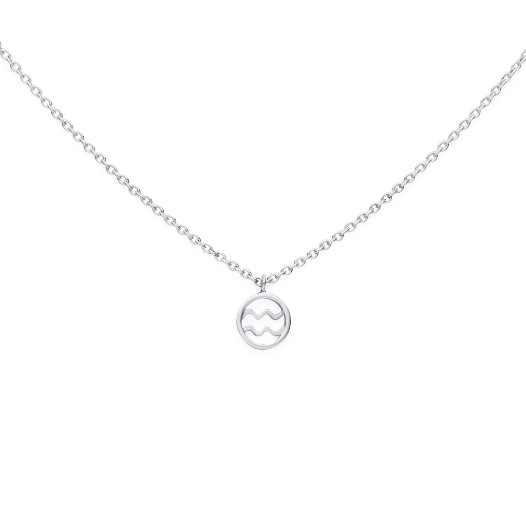 AQUARIUS NECKLACE - BO + BALA - ZODIAC JEWELLERY NZ