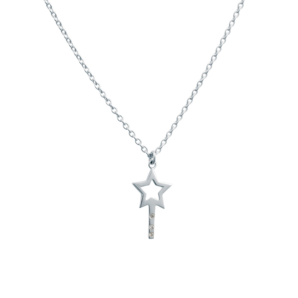 STAR WISHING WAND NECKLACE - BO + BALA