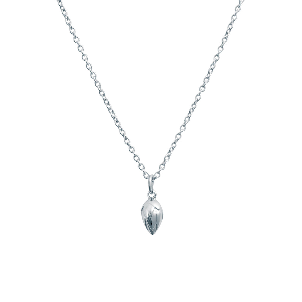 LOTUS BUD NECKLACE - BO + BALA - SILVER JEWELLERY FOR MUMS AND DAUGHTERS