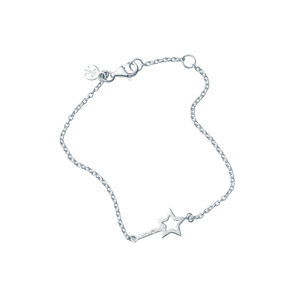 STAR WISHING WAND BRACELET - BO + BALA - KIDS SILVER BRACELET NZ