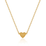 Love Necklace - Yellow Gold Vermeil