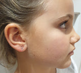 ZIG ZAG STUDS - BO + BALA - EARRINGS FOR KIDS NZ